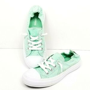 Converse All Star Low Lace Sneakers Shoes Womens 7